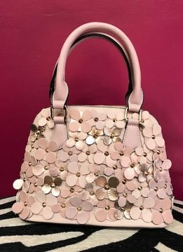 Blush Flower Handbag
