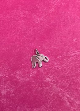 Sterling Silver Baby Elephant Charm