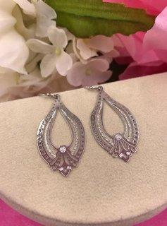Silver Trendy Style Lightweight Earrings