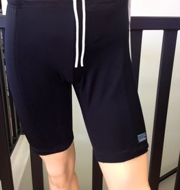 Sportees Sportees Athletic Fit Sliding Spandex Shorts w/ Padded Side Panels -Size L