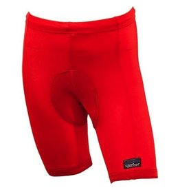 Sportees Sportees Athletic Fit Cycling Spandex Shorts w/ Padded Crotch/Butt For Bike Seat -Size XL