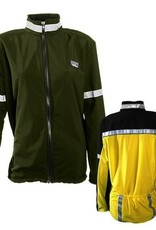 Sportees Sportees Athletic Cycling Jacket Fit w/ Nylon Front & Lycra Back-Size XS