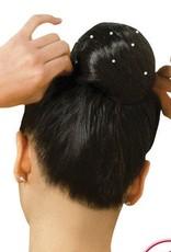 Capezio Capezio (BH424)  Hairnet Pearl-Black