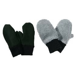Sportees Sportees 2 Way Stretch WindPro/WindBloc Fleece Mittens w/ Elastic at Wrist or Fleece Cuff-Size S