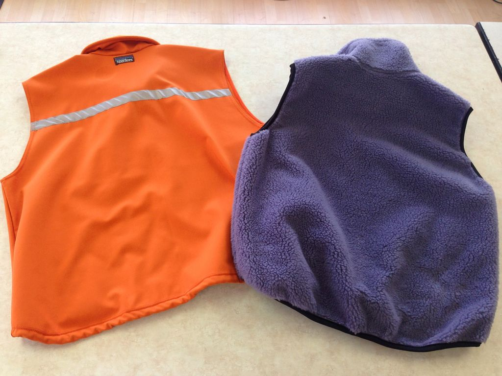 Sportees Sportees Athletic Fit Retro-X or Powersheild Fleece Vest