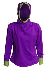 Sportees Sportees Athletic 4 Way Stretch Powerstretch Fleece Yoga Hoodie- One Size ( Can Be Made To Fit You)