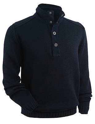 Saint James 100% Pure Wool. Heavy Stitch.