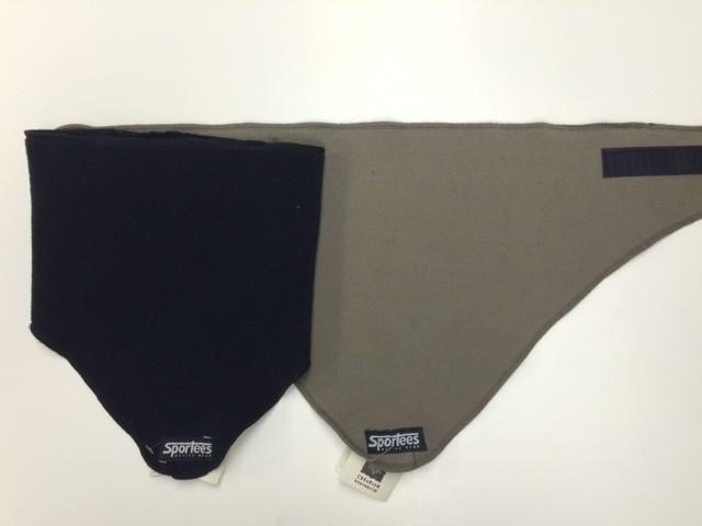 Sportees Sportees Windbloc Fleece Triangle Neck Warmer w/ Velcro- One Size