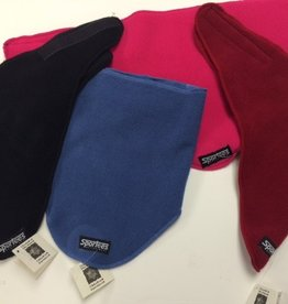 Sportees Sportees 200 Weight Fleece Triangle Neck Warmer w/ Velcro- One Size
