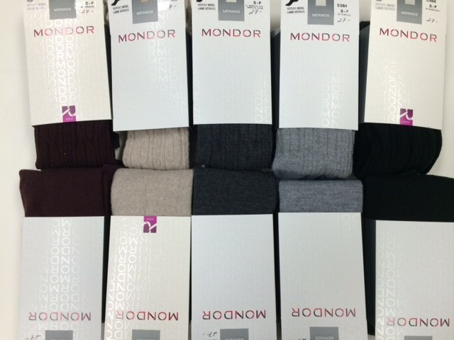 Mondor Mondor 05383 Merino Wool Tights