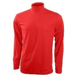 Sportees Great windproof top with a turtleneck and soft fuzzy fleece fabric.