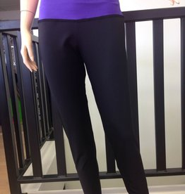 Sportees Sportees-Yoga-Tights Made With a Wide Waistband and Fitted Legs