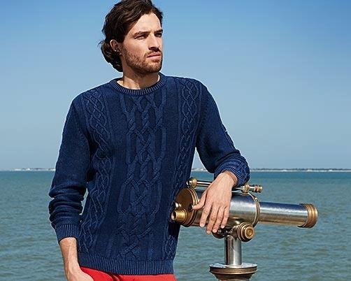 Saint James Saint James 8530-Auckland-Men's-Sweater