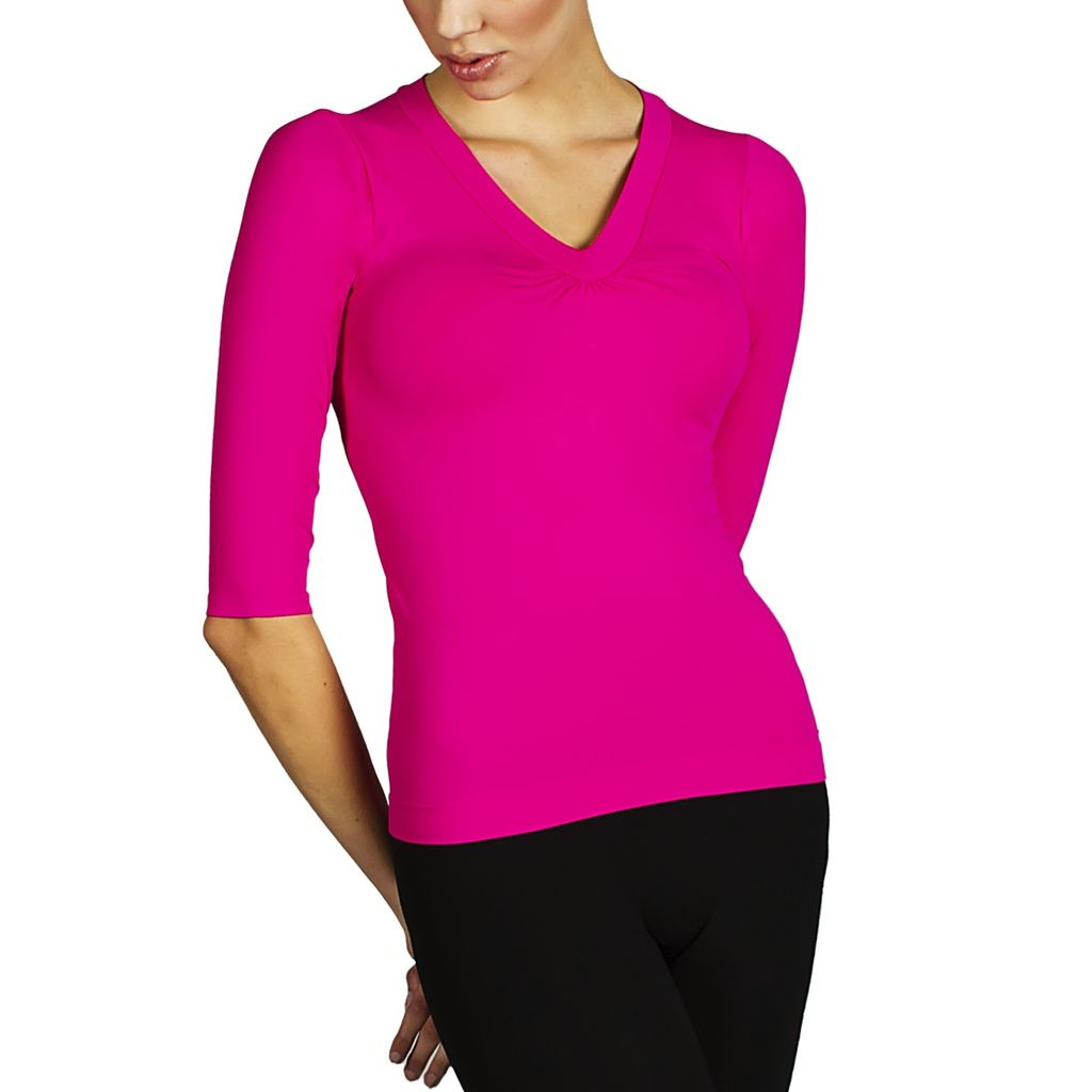Firma Energywear Firma-Ladies-V-Neck-3/4-Sleeve