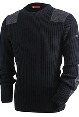 Saint James Saint James 0101-Men's-Barre-Sweater 100% Wool, Classic Military Style.