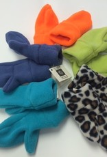 Sportees Sportees 2 Way Stretch 200 Weight Fleece Mittens w/ Fleece Cuff-Size XS
