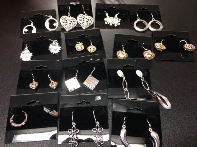 HOJ Silver Earrings