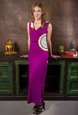Adria Mode Adria Mode Cybil-Organic-Cotton-Maxi-Dress