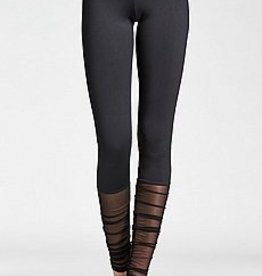 Mondor Mondor 05657 - Ruched Mesh Leggings