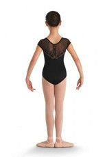 Bloch Bloch CL8682 Heart Mesh Cap Sleeve Leotard