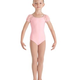 Bloch Bloch CL7702 Sequin Tulle Puff Sleeved Leotard