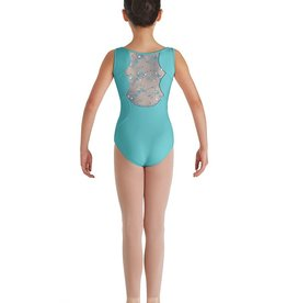 Bloch Bloch CL7955 Sequin Tulle Back Tank Leotard