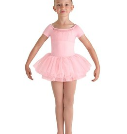 Bloch Bloch CL8210 Heart Mesh Cap Sleeve Tutu Leotard
