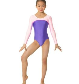 Mondor Mondor 7836 Neon Long Sleeve Leotard