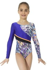 Mondor Mondor 37873 Gymnastic Long Sleeved Leotard