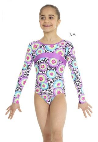 Mondor Mondor 17848 Long Sleeve Gymnastics Suit