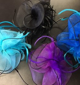 CA 445HB Fascinator with Feathers