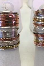 B-Rings - Sterling Silver Meditation Spinner Ring