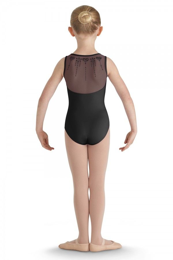 Bloch Bloch CL8610 Heart Mesh Sweetheart Tank Leotard