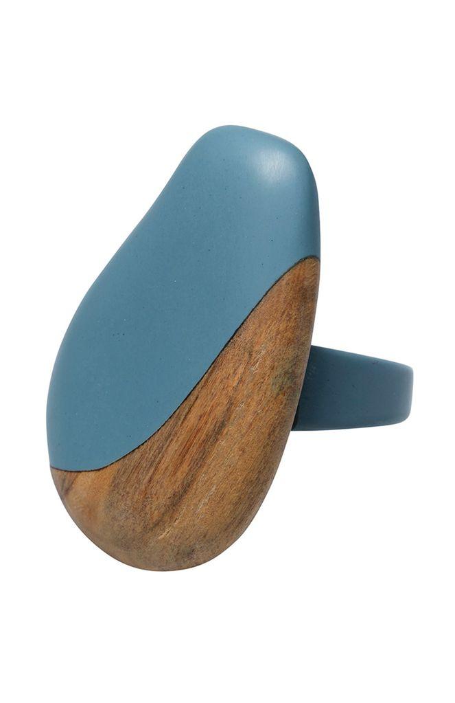 ELK Elk Resin and Wood Ring