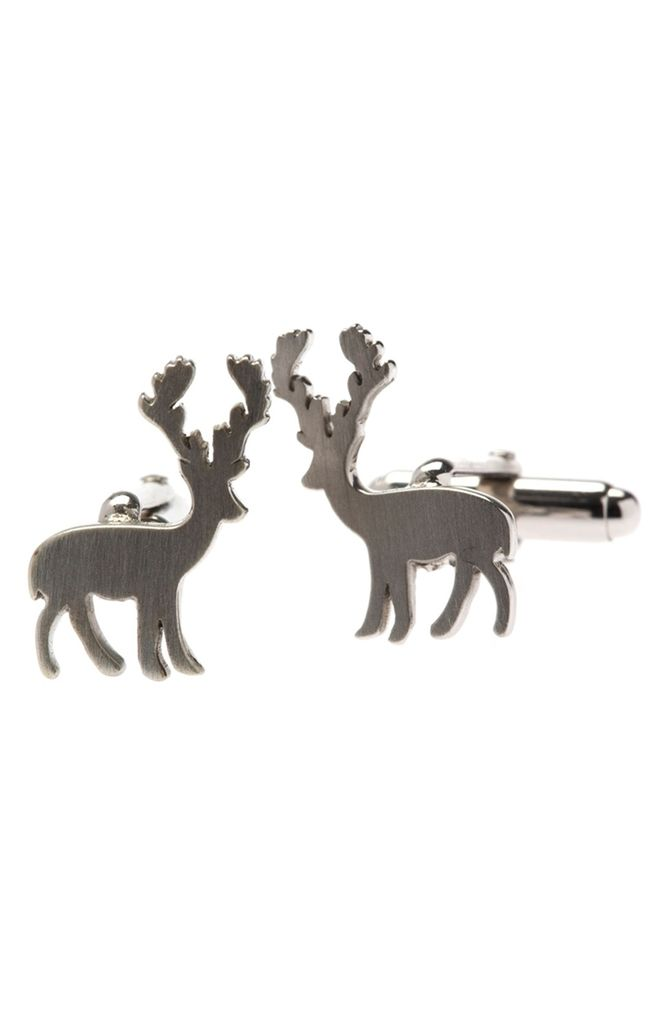 ELK Mr Elk Silver Cufflinks