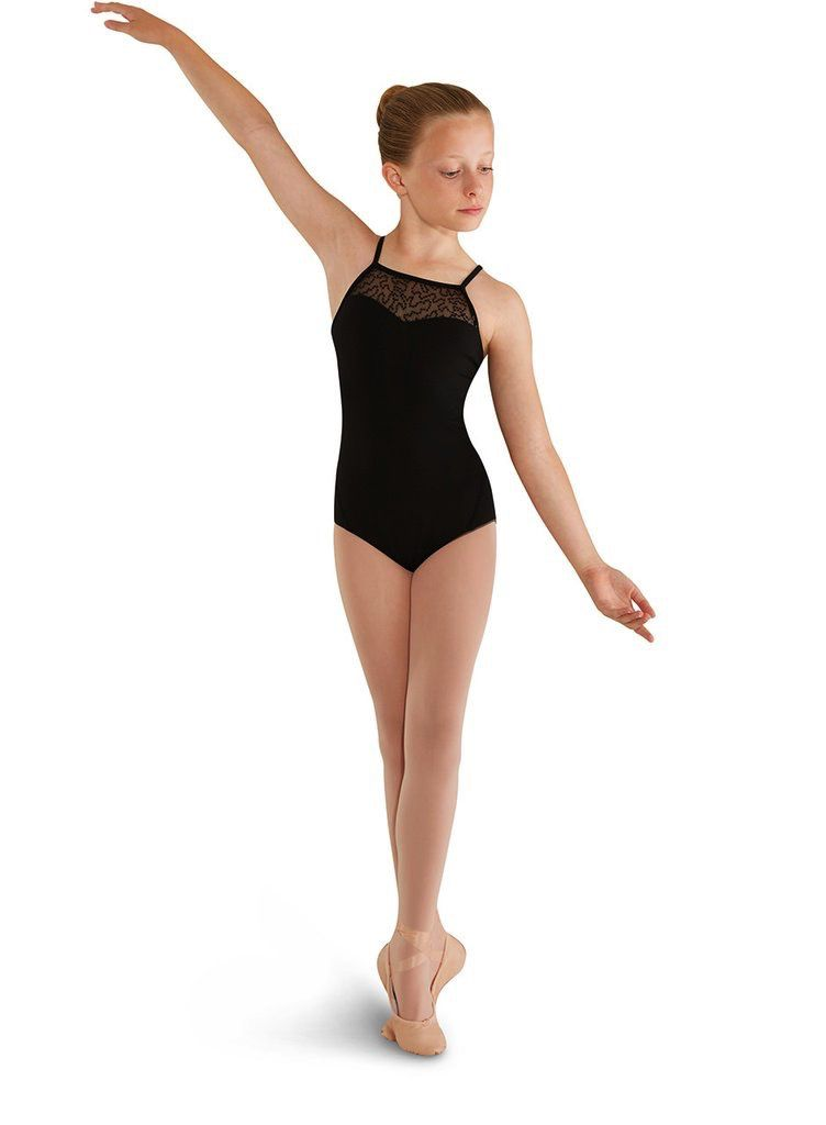 Bloch Bloch MIrella M406C Sequin High Neck Bow Leotard