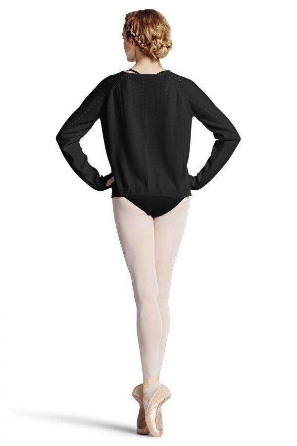 Bloch Bloch Z6910 Hole Knit HIgh/Low Sweater