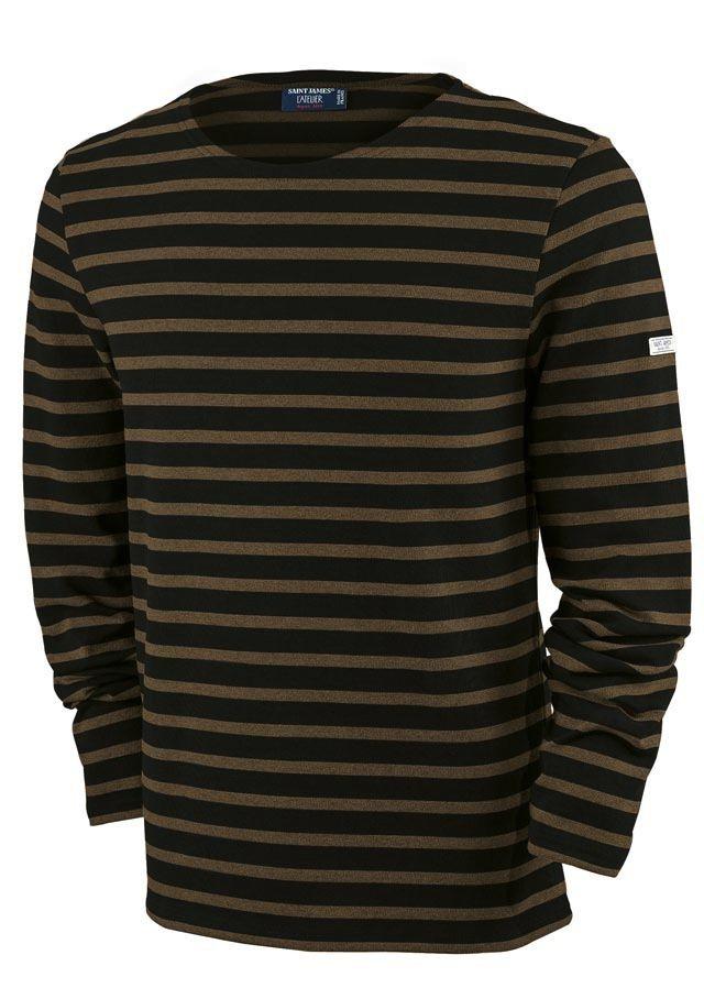 Saint James Saint James 6870 Men's Meridien Moderne Long Sleeve T Shirt