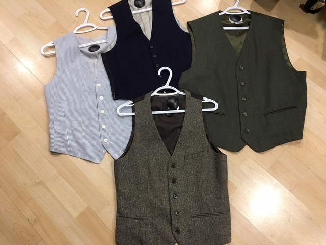 Men's Pre-Loved Vests Assorted Sizes