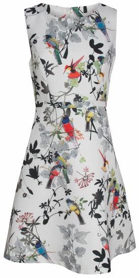 Smashed Lemon Smashed Lemon S17409 Bird Dress