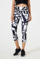 MPG MPG MPGXXS7LB17B Dare Printed Capri Leggings