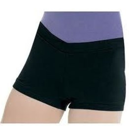 Bloch Bloch (CR3644- BLK- 4-6) V-Front Shorts
