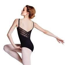Bloch Bloch L8820 Powermesh Back Cami Leotard