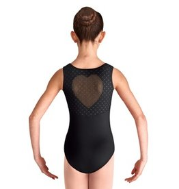 Bloch Bloch CL8097 Heart Mesh Back Cutout Tank Leotard