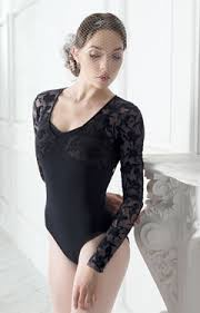Grishko Iris Lace- Long Sleeve Leotard- Small