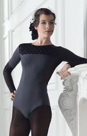 Grishko Polka Dots- Long Sleeve Leotard
