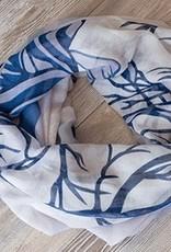 Robbie Craig 100% Polyester<br /> Oversized Infinity Scarf<br /> 35″ W x 70″ L