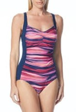 Gabar Swimwear GABAR OCEAN IKAT TWIST BRA ONE PIECE SWIMSUIT