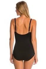 Gabar Swimwear GABAR DIVING DOT SQUARE NECK ONE PIECE SWIMSUIT
