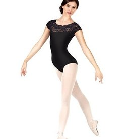 So Danca So Danca Girls Lace Cap Sleeve Leotard SL17